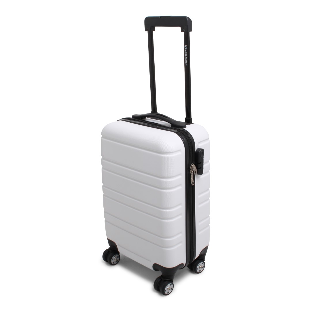 Cabin Size Trolley Napoli RPET White