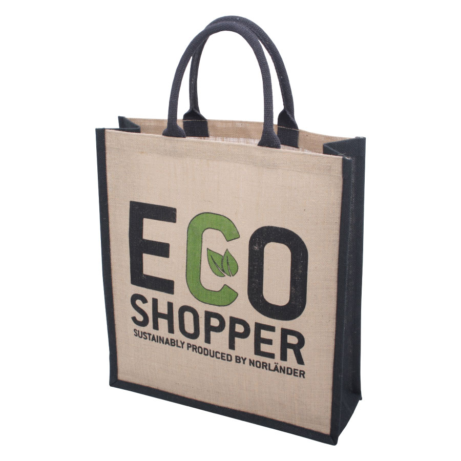 Jute Eco Shopper Groot