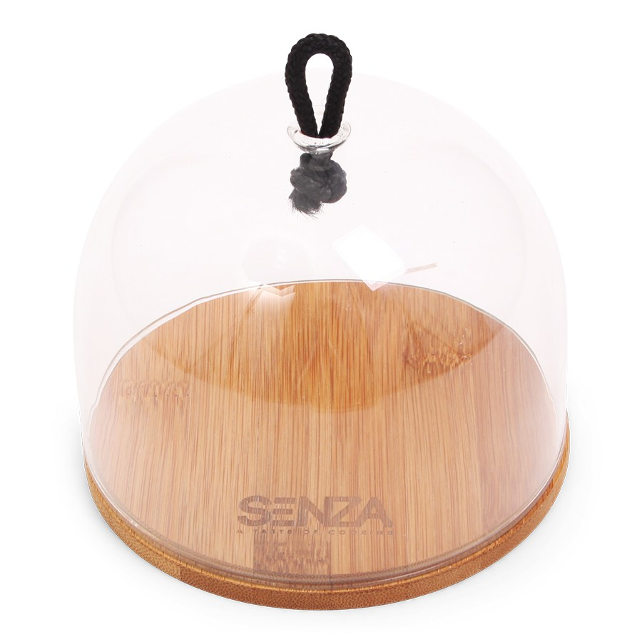 SENZA Bamboo Cheese Cloche