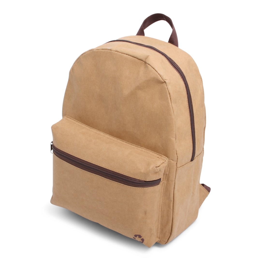 Washed Kraft Backpack Bruin