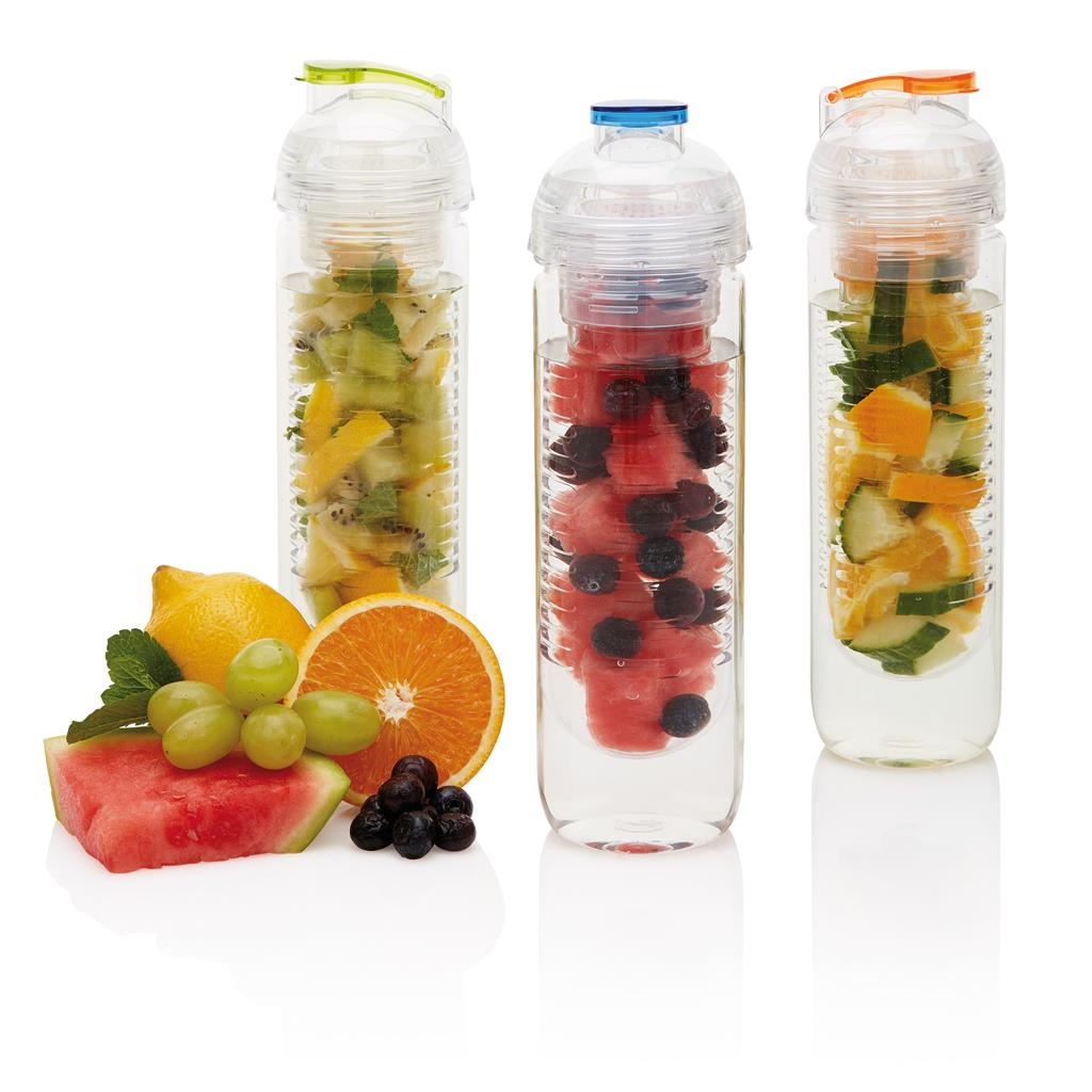 Waterfles met infuser 01